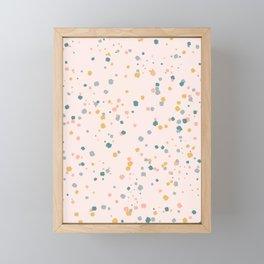 Confetti Framed Mini Art Print
