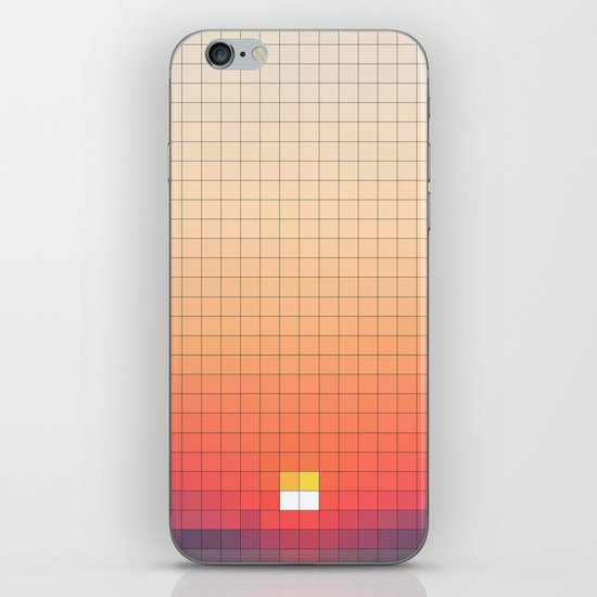 Geometric Sunset iPhone Skin