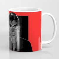 alex turner Mugs featuring Alex Turner - Arctic Monkeys by Dr.Söd