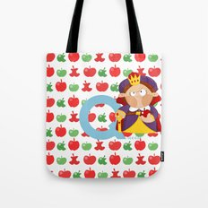 q for queen Tote Bag