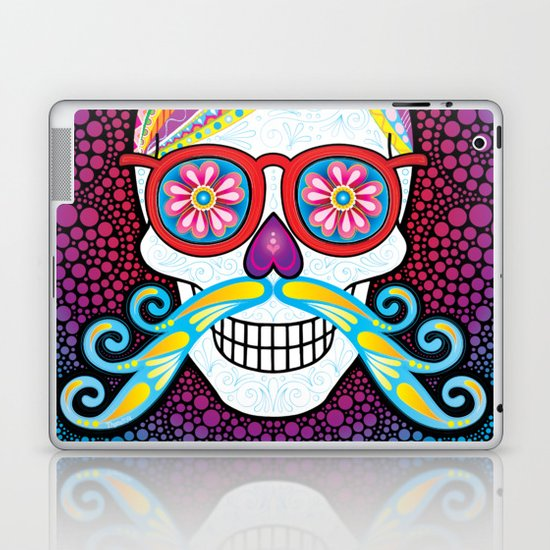 Sugar Skull (Mustachio) by thaneeya