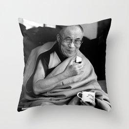Dalai Lama II Throw Pillow