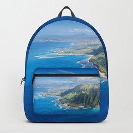 Na Pali approaching Hanalei Backpack
