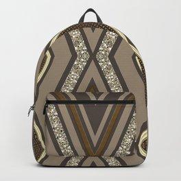 Geometric Rustic Glamour Backpack
