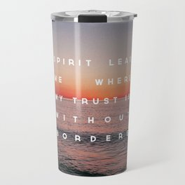 Spirit Lead Me Travel Mug
