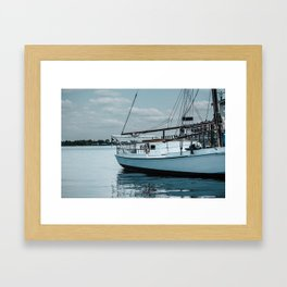 Sails on the Water Framed Art Print