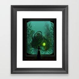 Songbird's Sacrifice Framed Art Print