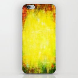 Colors of summer abstract woven texture iPhone Skin