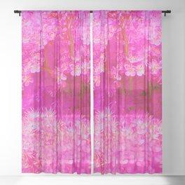 Pink! Sheer Curtain
