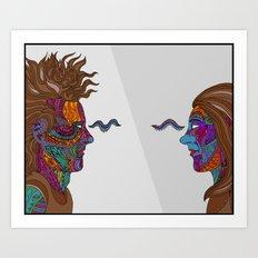 Prism Pair Art Print