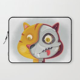 Cyborg cat Laptop Sleeve
