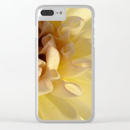 Delicate Flower Clear iPhone Case