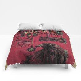 Edgar Allan Poe (Nevermore) Comforters