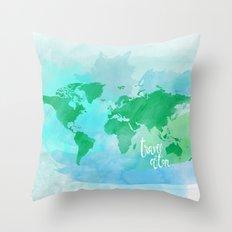 travel often.  Throw Pillow