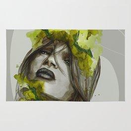 Eva by carographic, Carolyn Mielke Rug