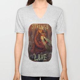 Strange Love Unisex V-Neck