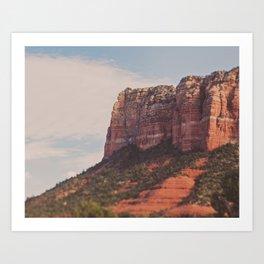 Sedona. Arizona Love Art Print