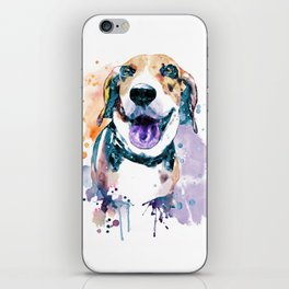 Sweet Beagle iPhone Skin