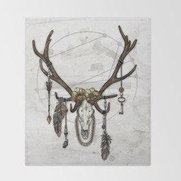 Bestial Crowns: The Elk Throw Blanket