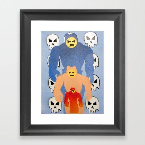 invaderz Framed Art Print