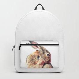 Rabbit Portrait Backpack