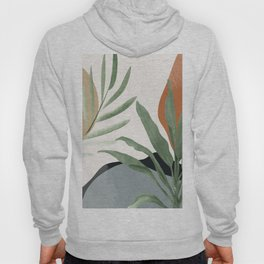 Abstract Art Tropical Leaves 10 Hoody
