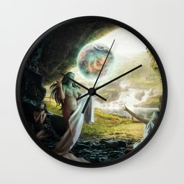 Birth of Zeus Wall Clock