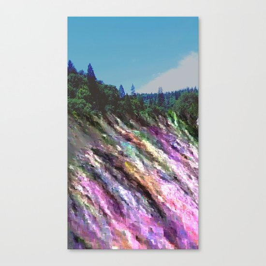 Happily Stranded Canvas Print
