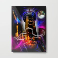 Asia World 20 Metal Print