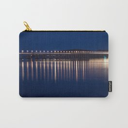The River Tay at night Dundee Carry-All Pouch