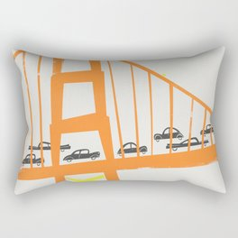 Golden Gate Bridge Rectangular Pillow