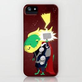 Tyrannothorus Rex - Tyrant King of Thunder iPhone Case