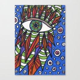 Visor Canvas Print