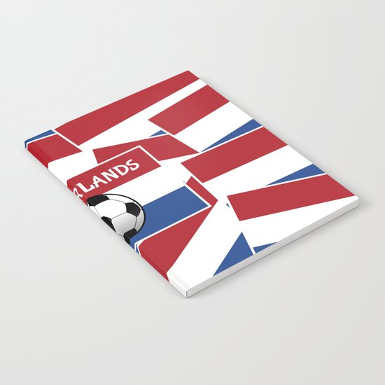 Netherlands Flag Football Notebook