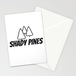 Shady Pines Stationery Cards