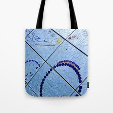 A Squiggle and A Square Tote Bag