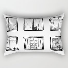 Every Window is A Story Rectangular Pillow