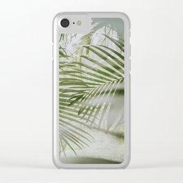 Aloha Palm Leaves // Haiku, Maui Clear iPhone Case