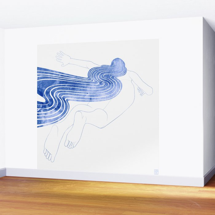Water Nymph XLVII Wall Mural