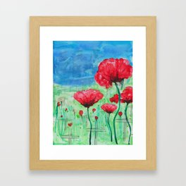 They Shall Not Grow Old Framed Art Print