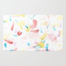 180515 Watercolour Abstract Wp 10 | Watercolor Brush Strokes Rug