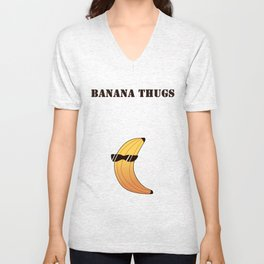 Banana Thugs Unisex V-Neck