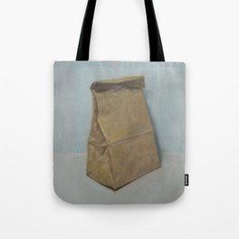 Schrödinger's bubble gum (brown paper bag) Tote Bag