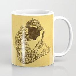 Man of Many Words Coffee Mug