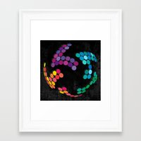 globe Framed Art Prints featuring Globe by Last Call