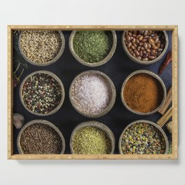 Spices Serving Tray