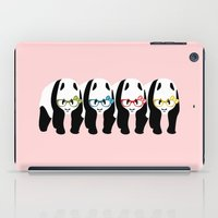 pandas iPad Cases featuring Pandas by mailboxdisco