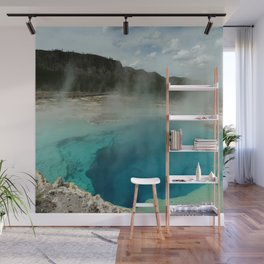 The Emerald Pool Colors Wall Mural