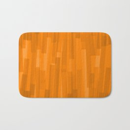 Geometric Brown Painting Bath Mat