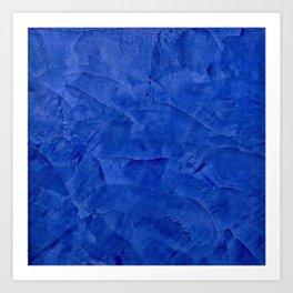 Pretty Blue Cases - Ombre - Stucco - Pillow - Classic Blue - Shower Curtains Art Print